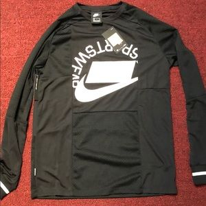 Nike Blacked Out Logo Jersey